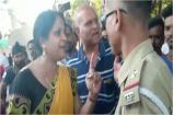 Video: గాడీ ఖోల్ - సారీ బోల్ : గుజరాత్లో మహిళ హల్చల్