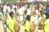 Video: తమిళనాడులో వానం సంబరాలు... డప్పు దరువుళ్ల మధ్య...