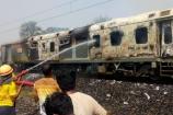 Video: రాజధాని ఎక్స్ప్రెస్లో మంటలు
