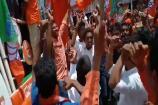 Video: కరీంనగర్లో ఎగిరిన బీజేపీ జెండా... కార్యకర్తలతో సంబరాలు చేసుకున్న సంజయ్...