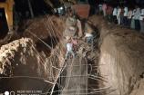 కొండ పోచమ్మ కాలువ వద్ద మిల్లర్ బోల్తా...ఇద్దరు వ్యక్తులు మృతి