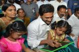 Video: రాజన్న బడిబాట.. ఏబీసీడీలు దిద్దించిన జగన్