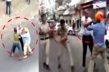 Video : టెంపో డ్రైవర్ కత్తితో దాడి... రెచ్చిపోయిన ఢిల్లీ పోలీసులు
