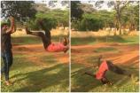 Video : రిస్కీ స్టంట్.. టిక్టాక్ వీడియోతో ప్రాణాల మీదకు తెచ్చుకున్న యువకుడు