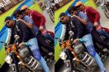 RGV : హెల్మెట్ లేకుండా.. హైదరాబాద్లో ట్రిపుల్ రైడింగ్ చేస్తోన్న రామ్ గోపాల్ వర్మ