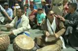 Video: లద్దాఖ్ కొండల్లో బీజేపీ ఎంపీ డప్పుల దరువు