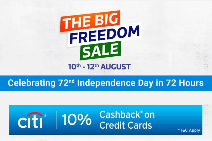 Flipkart Announces 'The Big Freedom Sale' From August 10: Here's Everything You Need To Need To Know