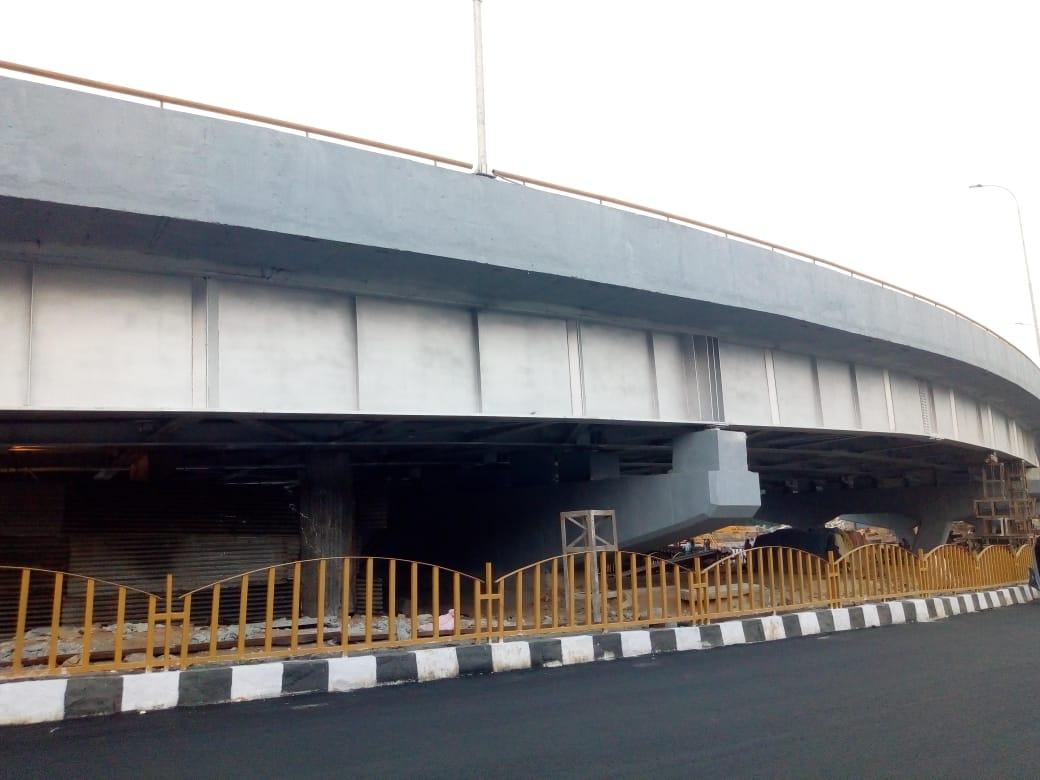 హైదరాబాద్ హైటెక్ సిటీ వద్ద ప్రారంభోత్సవానికి సిద్ధమైన ఫ్లై ఓవర్