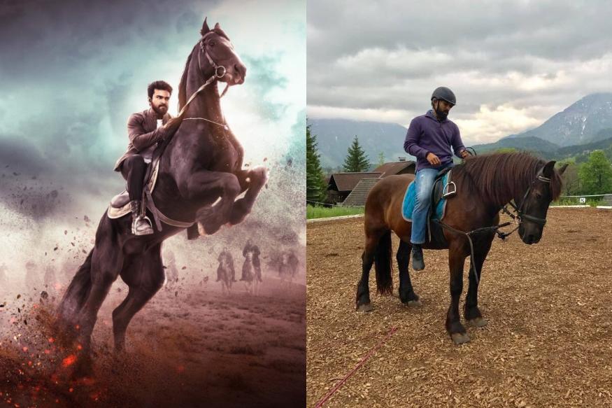 Ram Charan Vinaya Vidheya Rama Horse Riding Poster Goes Viral In Social Media.. రామ్ చరణ్కు గుర్రాలంటే ఎంత ఇష్టమో ప్రత్యేకంగా చెప్పాల్సిన పనిలేదు. కుదిరితే ప్రతీ సినిమాలో కూడా గుర్రం ఎక్కేయాలనుకుంటాడు మెగా పవర్ స్టార్. కానీ కథ కుదరాలి కదా.. కానీ కుదిరిన ప్రతీసారి హార్స్ రైడింగ్ సీన్స్లో రచ్చ చేస్తుంటాడు ఈ హీరో. ఇప్పుడు మరోసారి ఇదే చేసాడు. తాజాగా ఈయన నటిస్తున్న 'వినయ విధేయ రామ' సినిమా పోస్టర్ విడుదలైంది. ram charan vinaya vidheya rama,vinaya vidheya rama horse riding poster,ram charan vinaya vidheya rama images,ram charan vinaya vidheya rama photos,ram charan horse riding,ram charan horse riding photos,vinaya vidheya rama trailer,vinaya vidheya rama trailer release date,vinaya vidheya rama trailer date,vinaya vidheya rama pre release date,vinaya vidheya rama audio release date,రామ్ చరణ్ హార్స్ రైడింగ్,రామ్ చరణ్ వినయ విధేయ రామ పోస్టర్,రామ్ చరణ్ హార్స్ రైడింగ్ సీన్స్,రామ్ చరణ్ వినయ విధేయ రామ,బోయపాటి శ్రీను రామ్ చరణ్, వినయ విధేయ రామ ప్రీ రిలీజ్ ఫంక్షన్,తెలుగు సినిమా