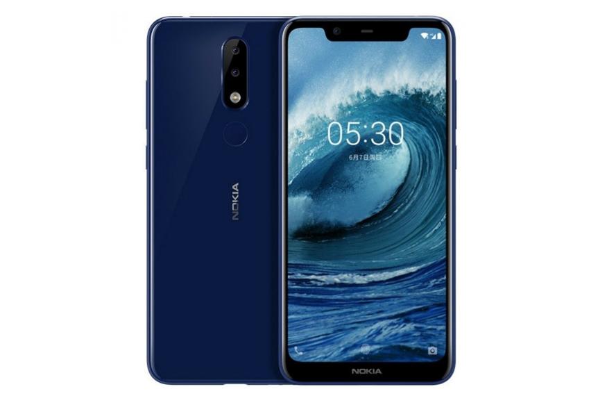 5. Nokia 5.1 Plus: నోకియా 5.1 ప్లస్(3జీబీ+32జీబీ) అసలు ధర...10,999 రూ. ఆఫర్ ధర... రూ.9,999.