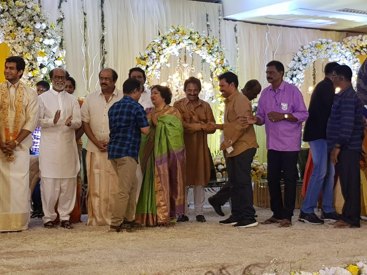 సౌందర్య రజినీకాంత్ ప్రీ వెడ్డింగ్ రిసెప్షన్