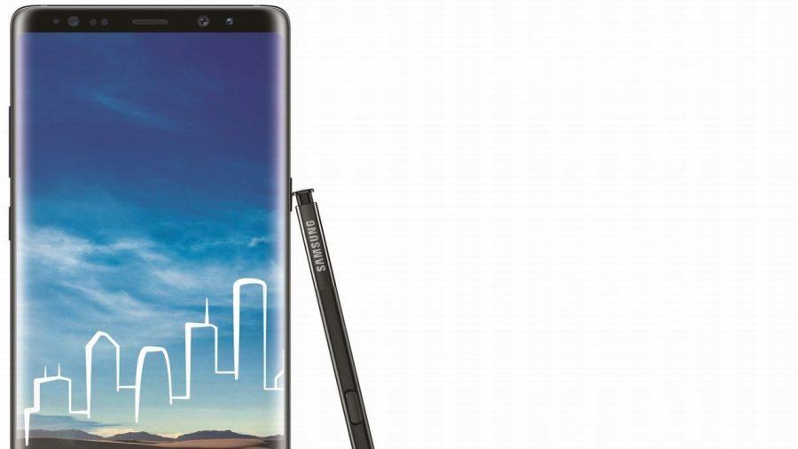 1. Samsung Galaxy Note 8 | SAR value: 0.17 (Image: Samsung)