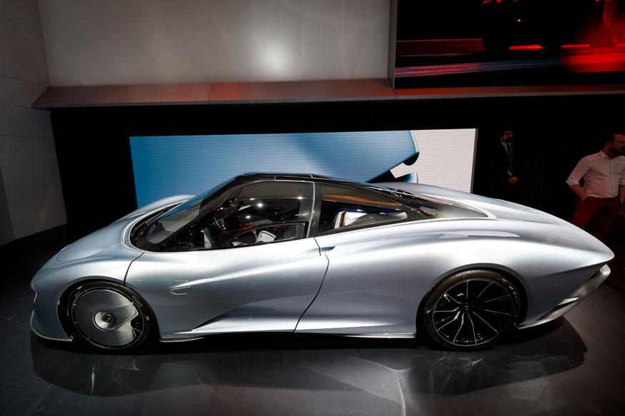 10. McLaren Speedtail Concept. (Image: AP)