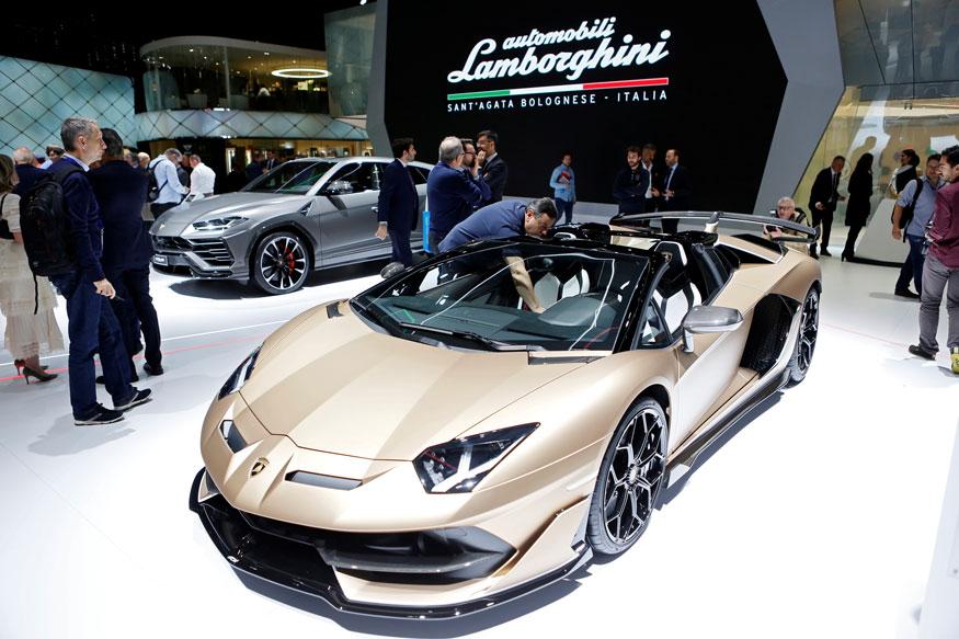 20. Lamborghini Aventador SVJ Roadster. (Image: Reuters)