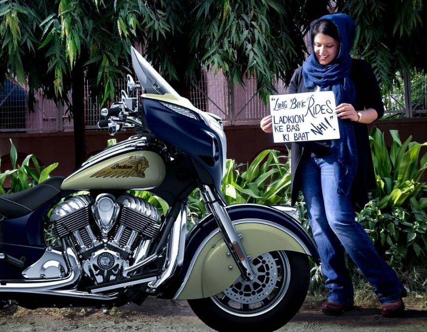 3. జీవితంలో ఏదైనా భిన్నంగా సాధించాలన్నది రోష్నీ మిస్బా ఆశయం. అందుకే ఈ మార్గాన్ని ఎంచుకుంది. (Image: roshnimisbah/Instagram)