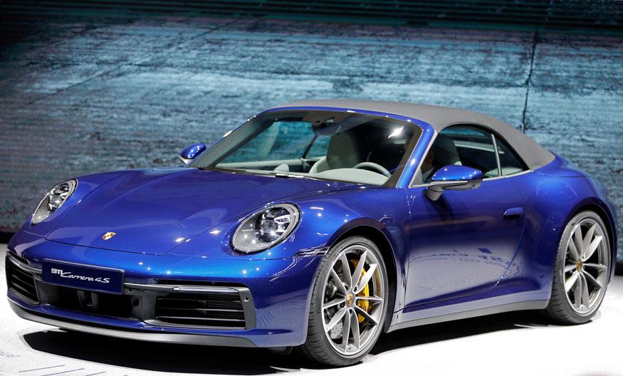 32. Porsche 911 Cabriolet. (Image: Reuters)