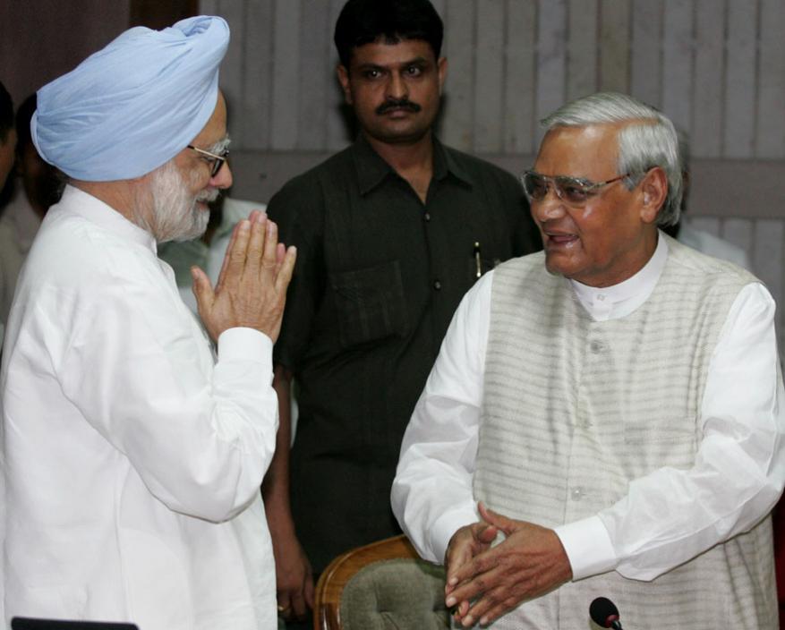 మాజీ ప్రధానితో అటల్ బిహారీ వాజ్పేయి (Image: Reuters)