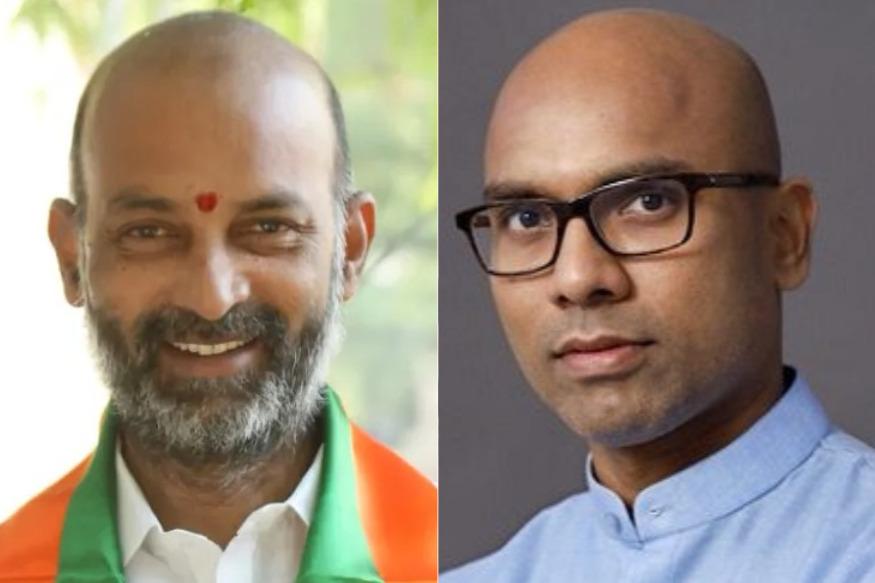 తెలంగాణ బీజేపీ చీఫ్ రేసులో ఇద్దరు ఎంపీలు ? | Bandi sanjay and dharmapuri Arvind in telangana bjp state president race ak