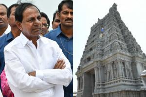 అద్భుతం యాదాద్రి ఆలయం... పరిశీలించిన సీఎం కేసీఆర్