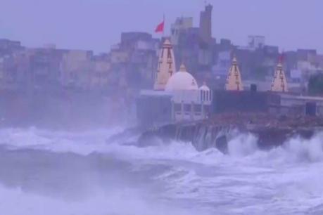 Cyclone Vayu : దిశ మార్చుకున్న తుఫాను... గుజరాత్కి తప్పిన పెను ముప్పు...